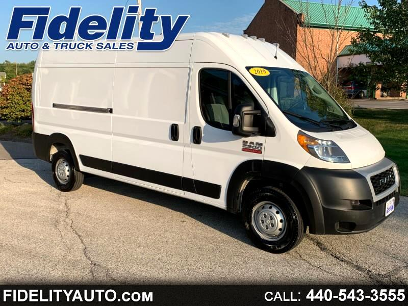 2019 RAM Promaster 2500 High Roof Tradesman 159-in. WB
