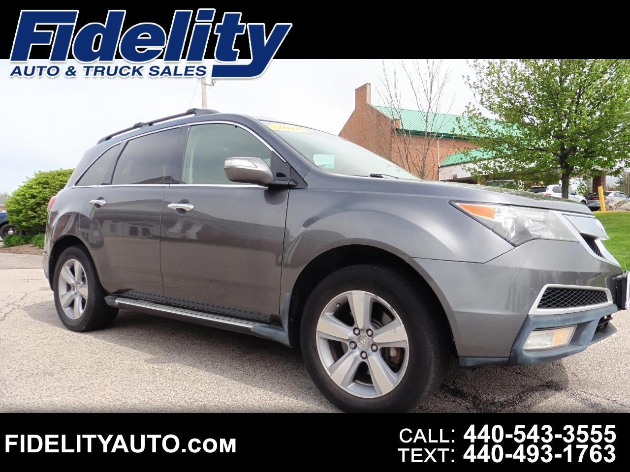 Acura MDX AWD 4dr Technology/Entertainment Pkg 2011
