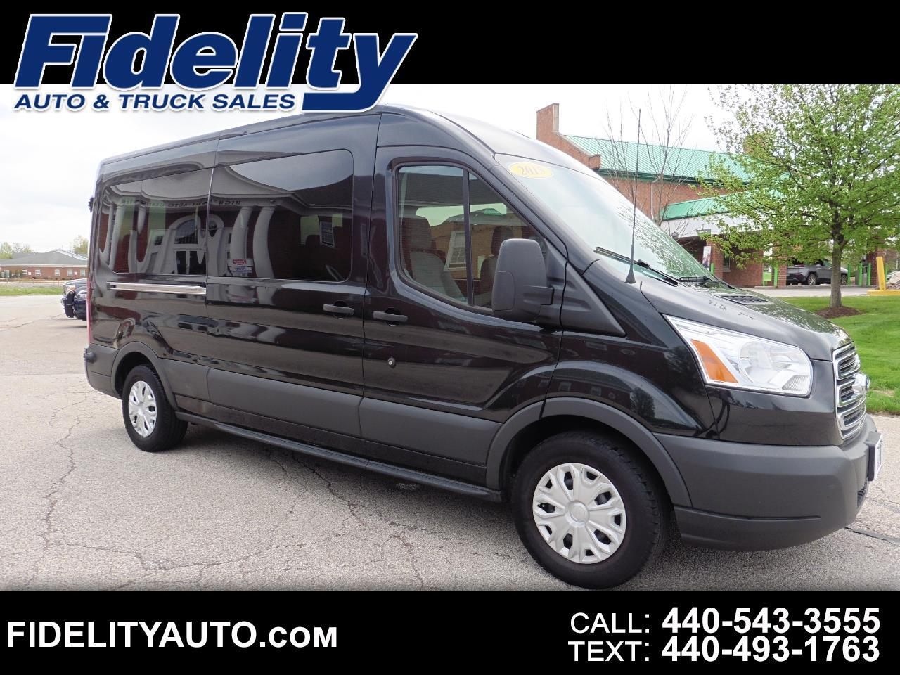 Ford Transit 350 Wagon Med. Roof XLT w/Sliding Pass. 148-in. WB 2015