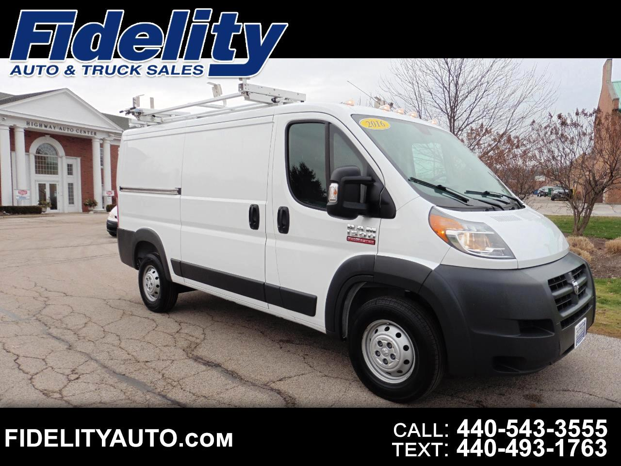 RAM Promaster 1500 Low Roof 136-in. WB 2016