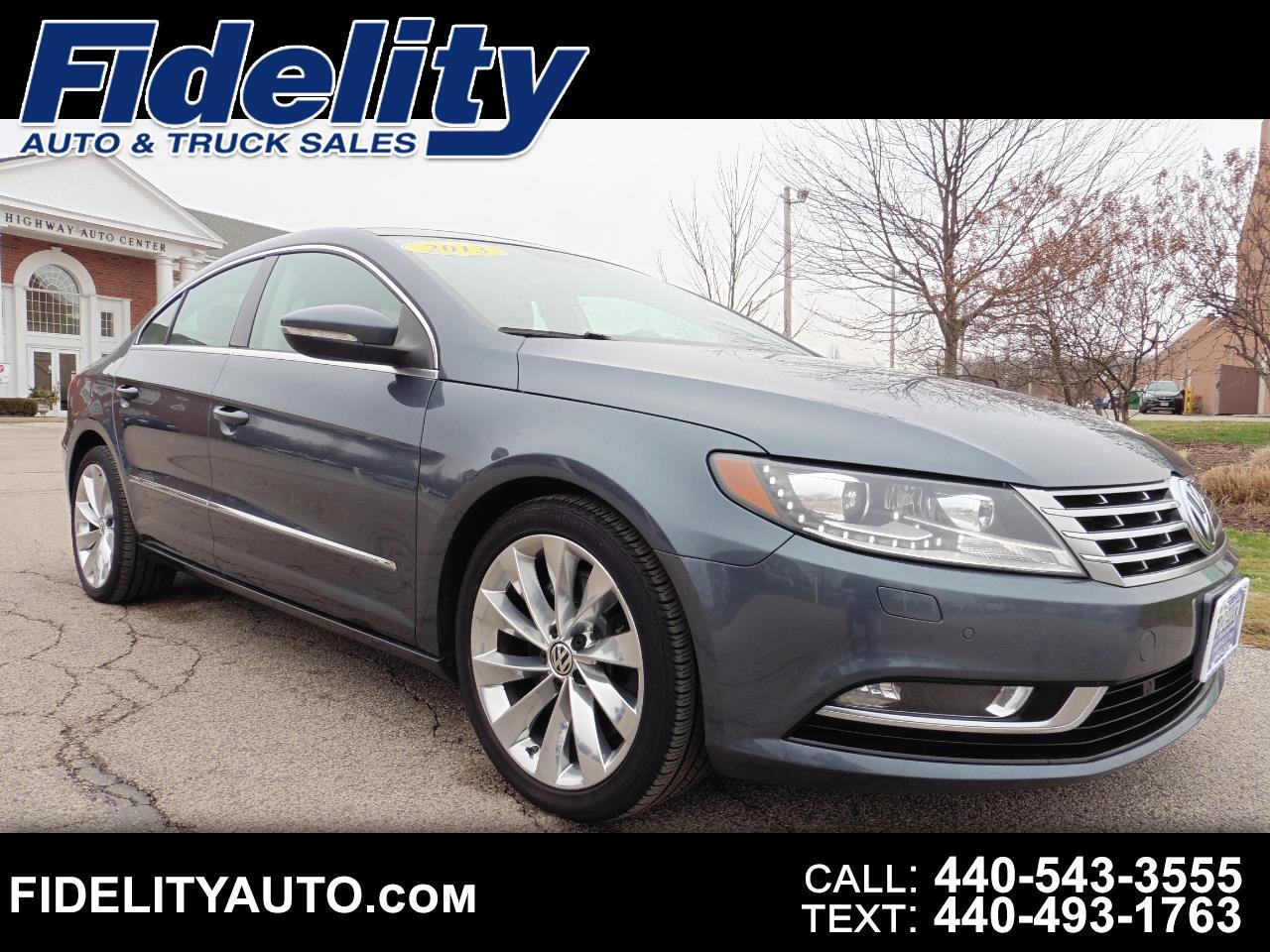 Volkswagen CC 4dr Sdn VR6 Executive 4Motion 2013
