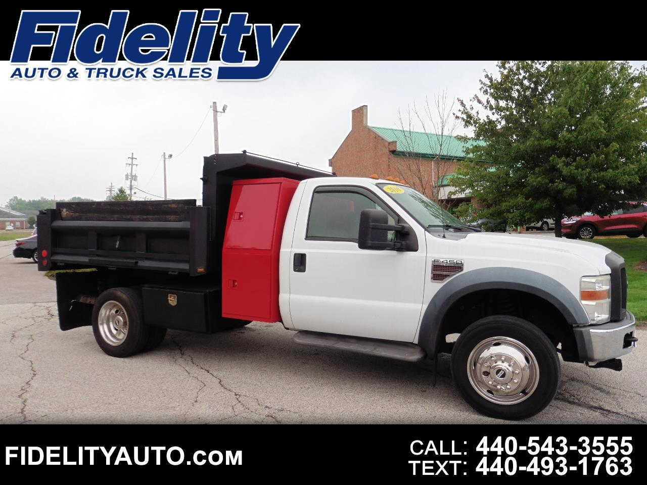 Ford F-450 SD Regular Cab DRW 2WD 2010