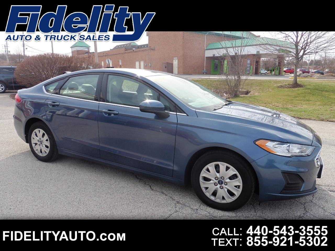 Ford Fusion 4dr Sdn I4 S FWD 2019