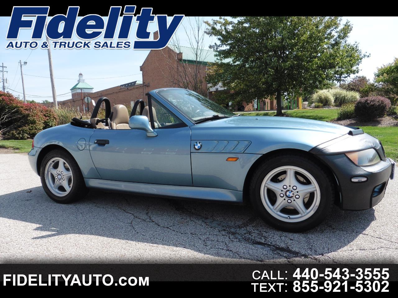 1998 BMW 3 Series Z3 2dr Roadster 1.9L