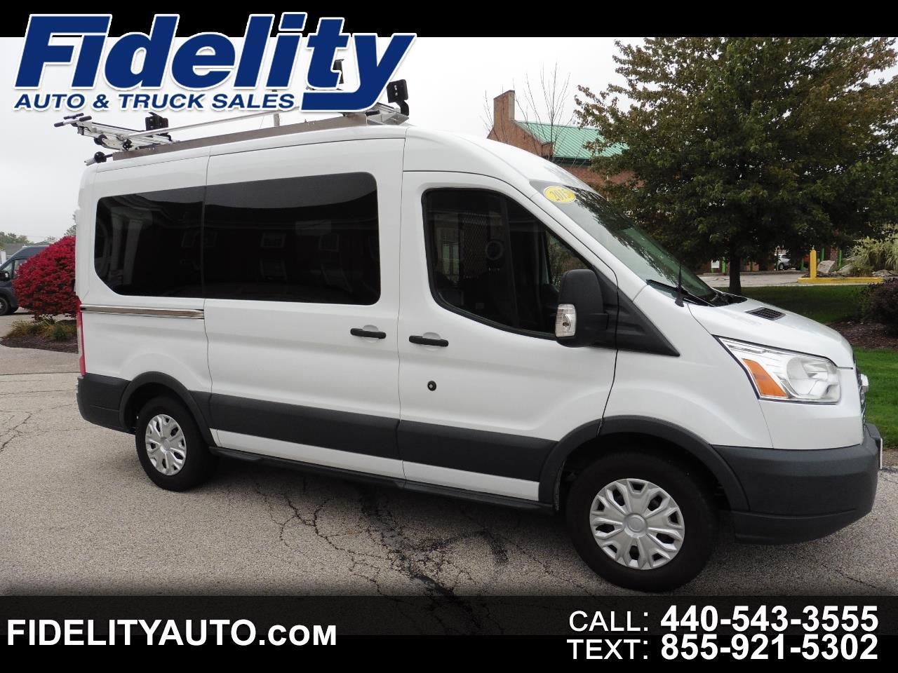 "2015 Ford Transit Wagon T-150 130"" Med Roof XLT Sliding RH Dr"
