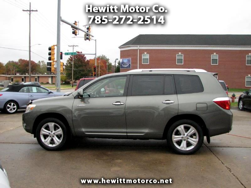 2008 Toyota Highlander Limited 4WD
