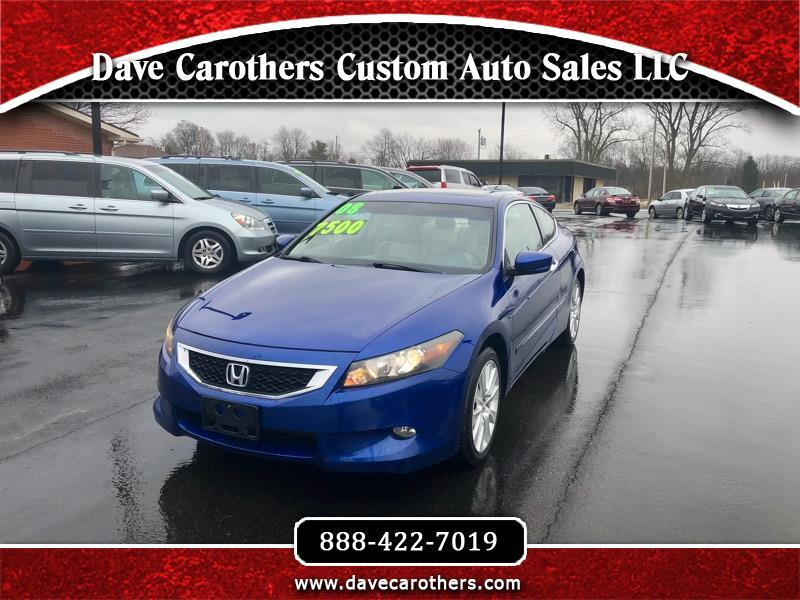 2008 Honda Accord EX Coupe AT with Leather and Navigation System