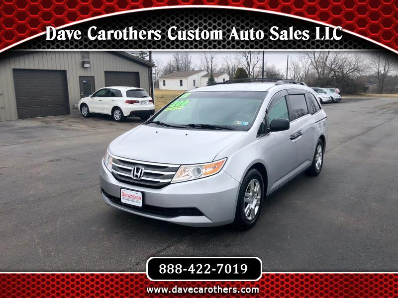Custom Auto Sales >> Used 2012 Honda Odyssey Lx For Sale In Bellefontaine Oh