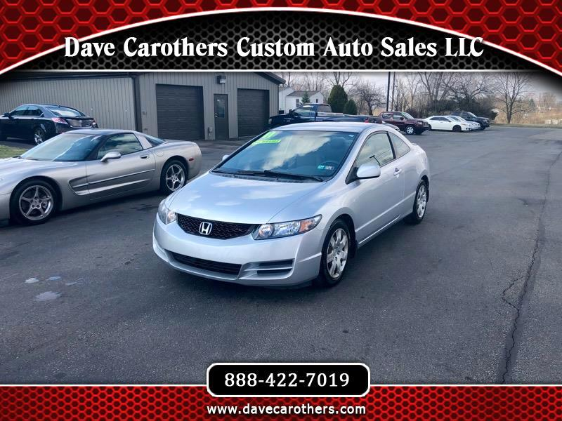 2011 Honda Civic LX Coupe 5-Speed AT