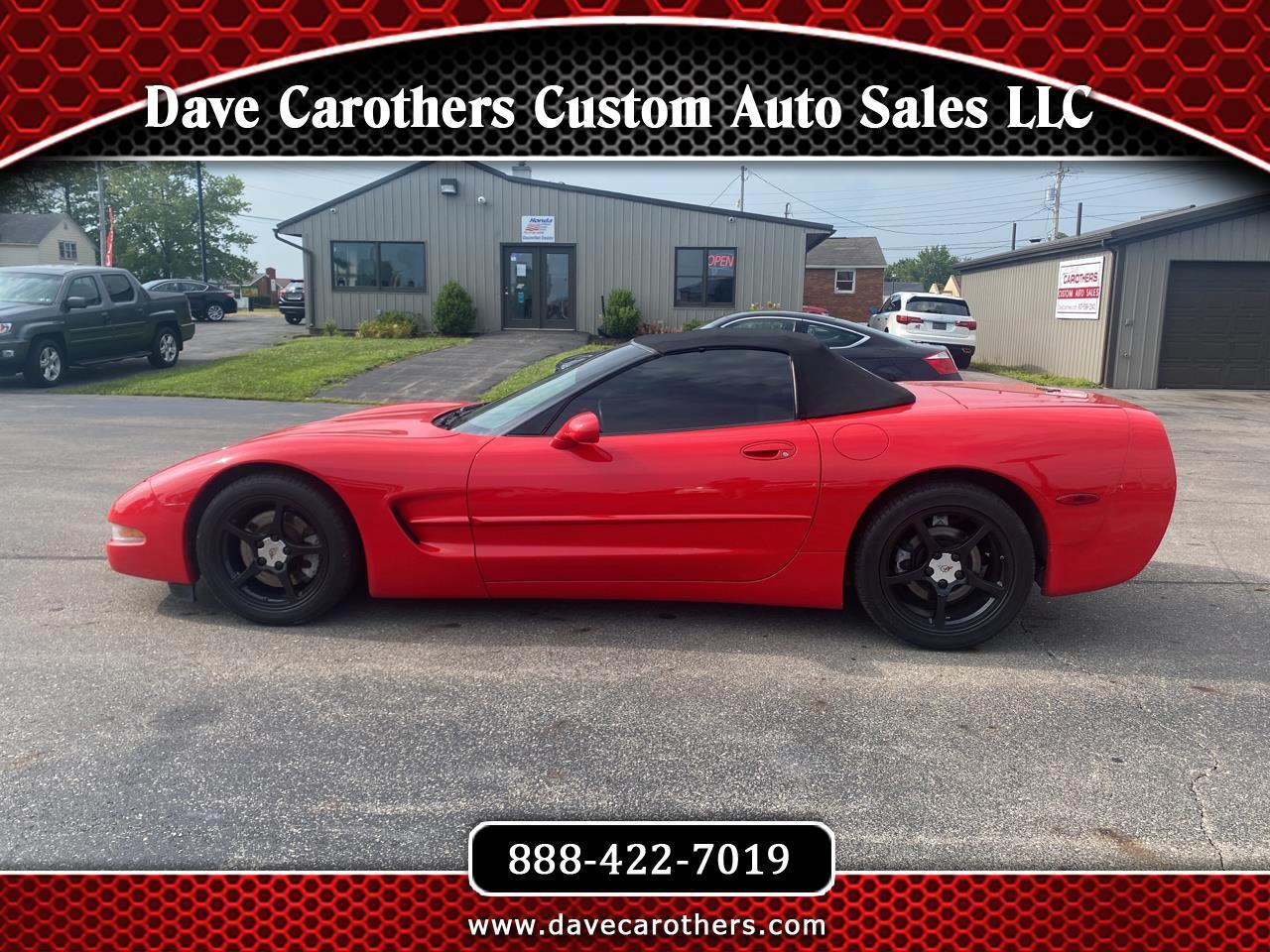 Chevrolet Corvette 2dr Convertible 2001