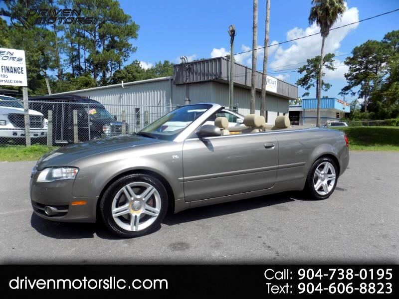 2007 Audi A4 2.0T Cabriolet