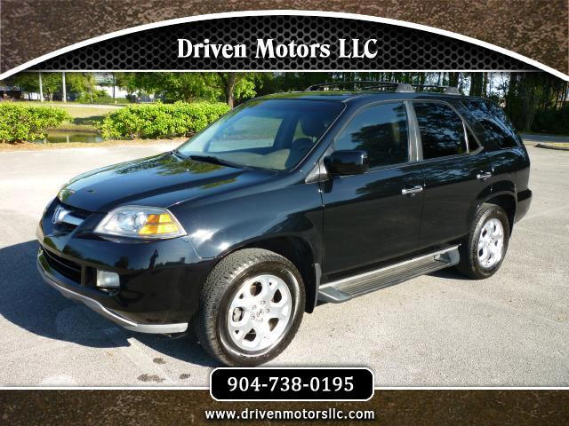 2004 Acura MDX Tech Package with Rear DVD System