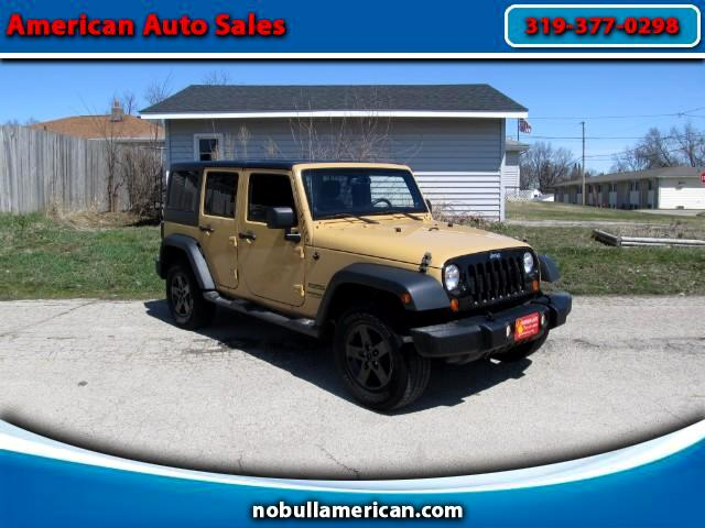 2014 Jeep Wrangler 4WD 4dr Unlimited X