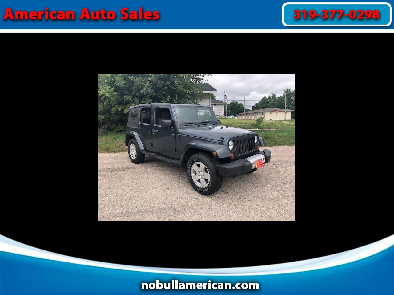 Jeep Wrangler Unlimited Sahara 4WD 2008