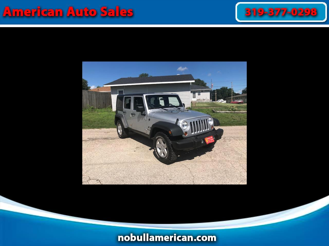 2008 Jeep Wrangler Unlimited 4WD 4dr Sport