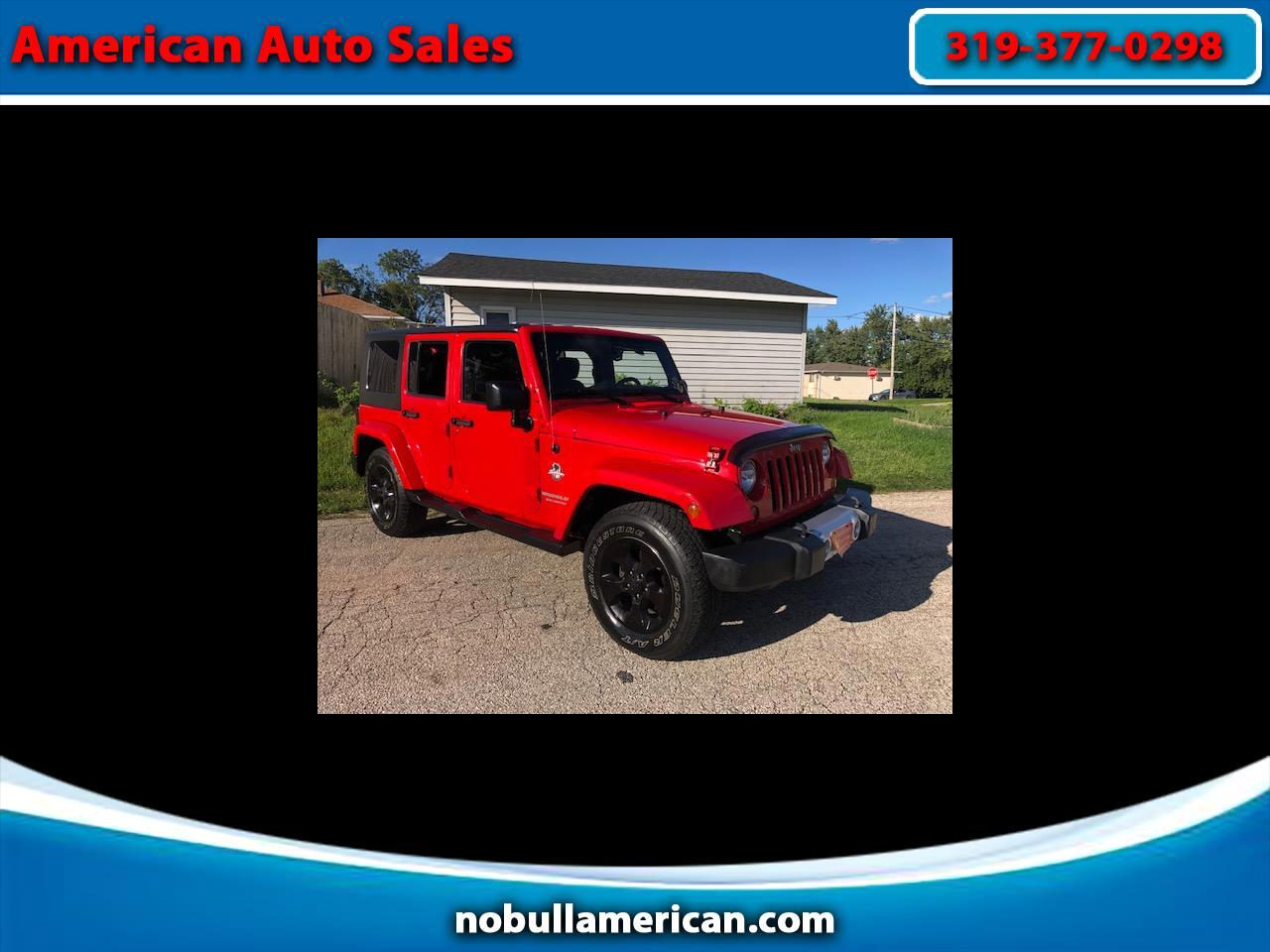 2015 Jeep Wrangler Unlimited Sahara 4WD