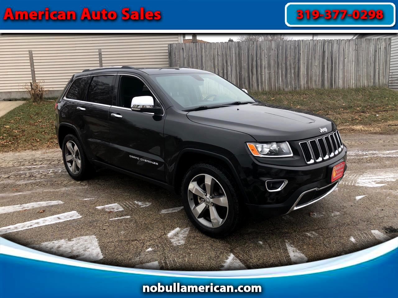Jeep Grand Cherokee 4dr Limited 2015