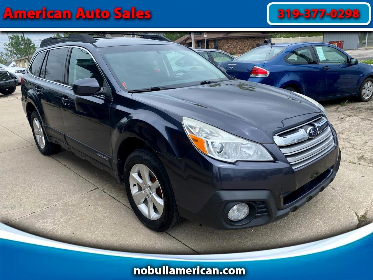 Subaru Outback 2.5 XT 2013
