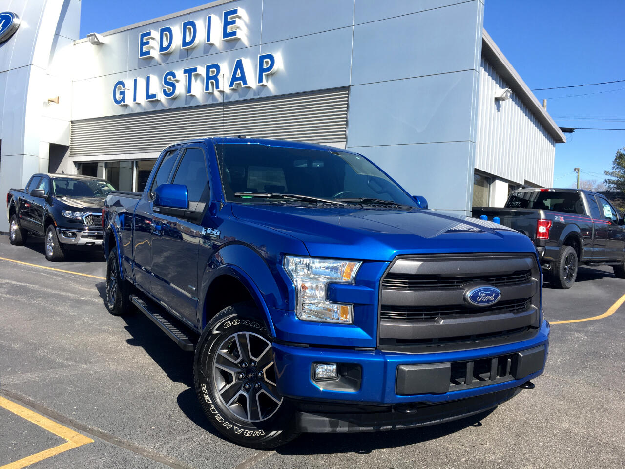 Ford F-150 Lariat SuperCab 4WD 2017