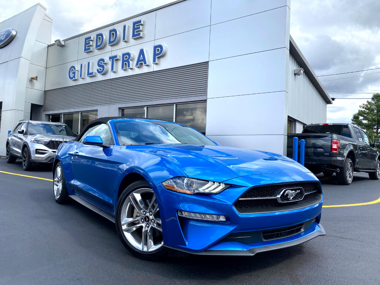 Used 2020 Ford Mustang Ecoboost Premium Convertible For Sale In Salem In 47150 Eddie Gilstrap Motors Inc
