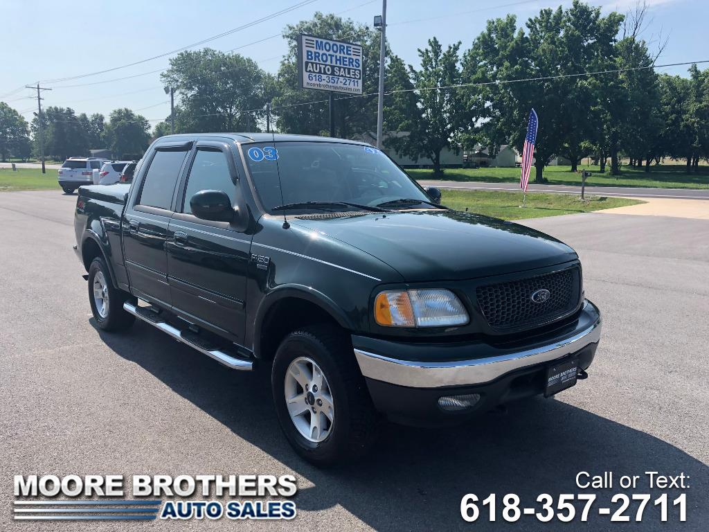 2003 Ford F-150 SuperCrew Lariat 4WD