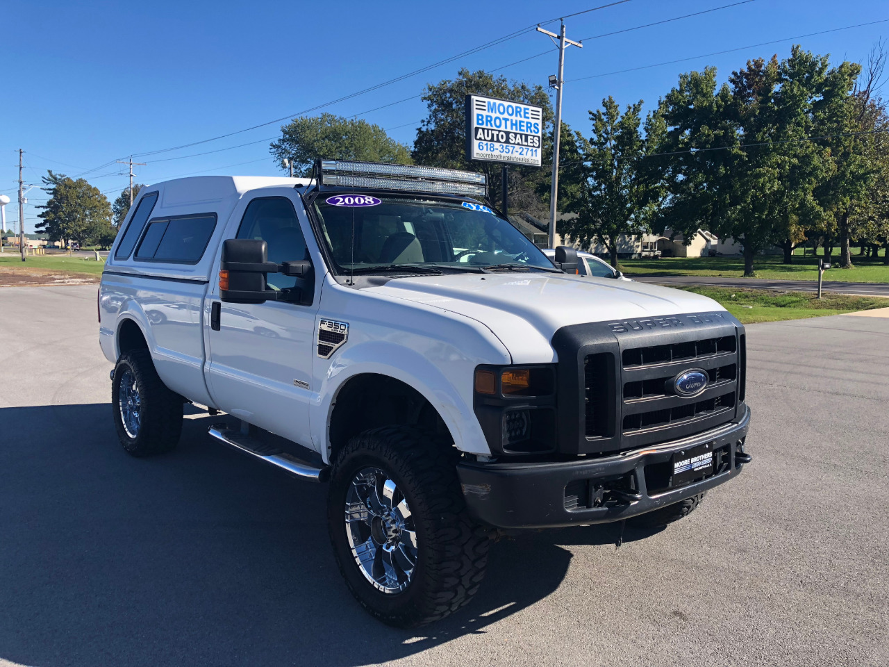 2008 Ford Super Duty F-350 SRW 4WD Reg Cab XL