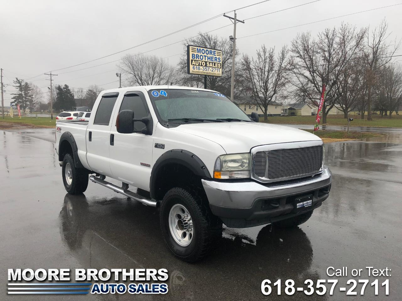 2004 Ford Super Duty F-250 Crew Cab XLT 4wd