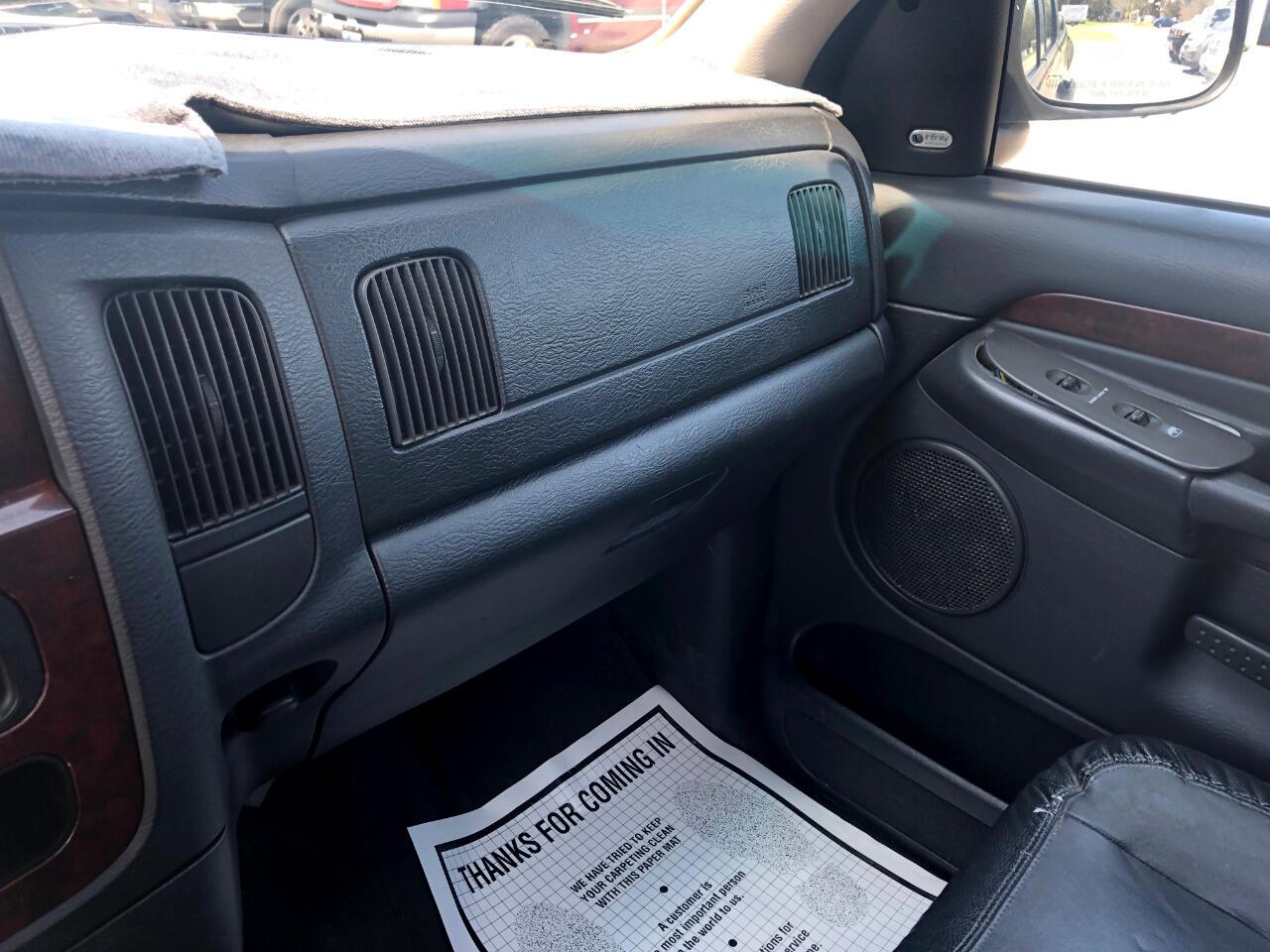 2003 Dodge Ram 1500 SLT Quad Cab 4WD