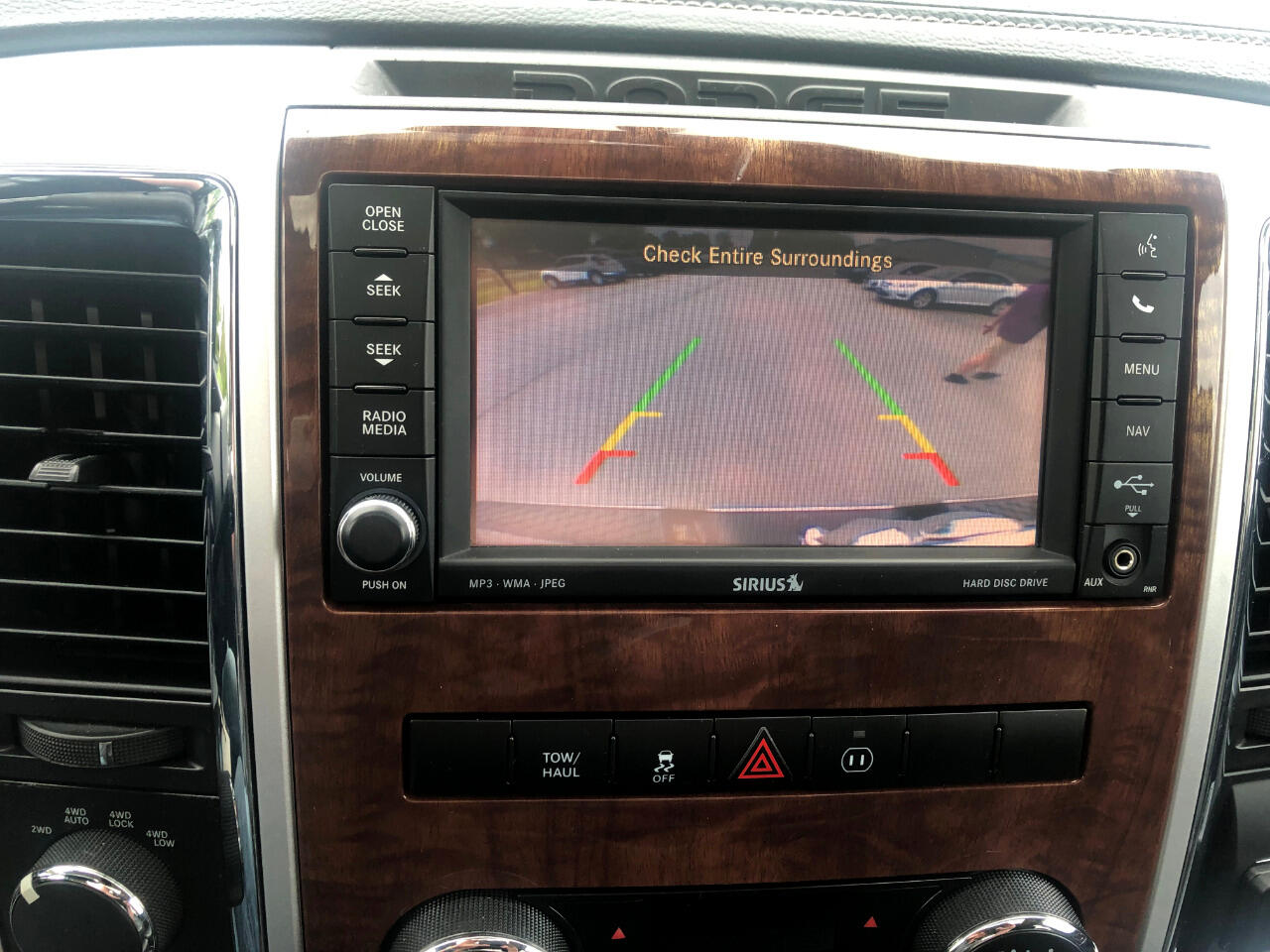 2012 RAM 1500 4WD Crew Cab Laramie