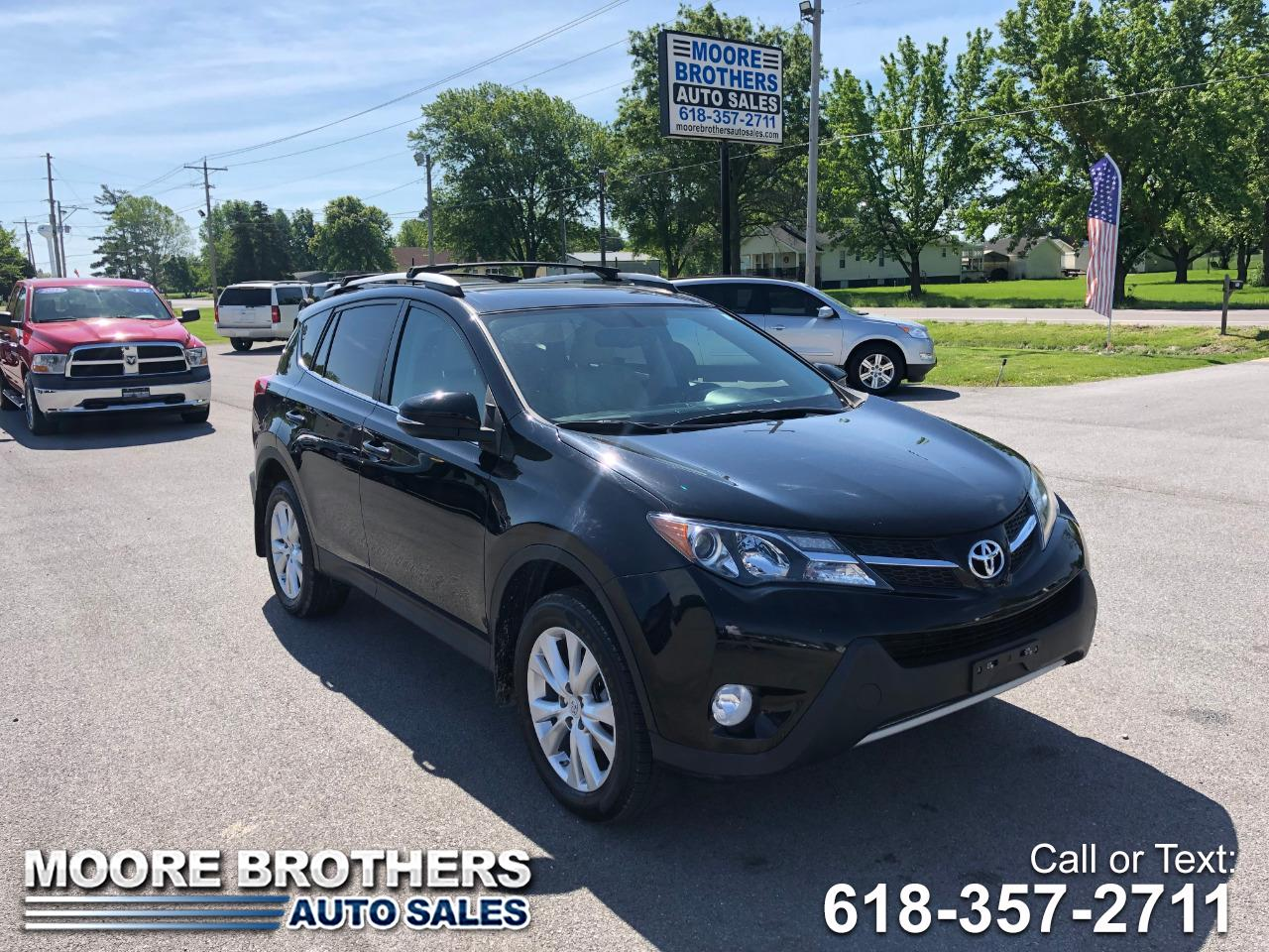 2014 Toyota RAV4 AWD 4dr Limited (Natl)