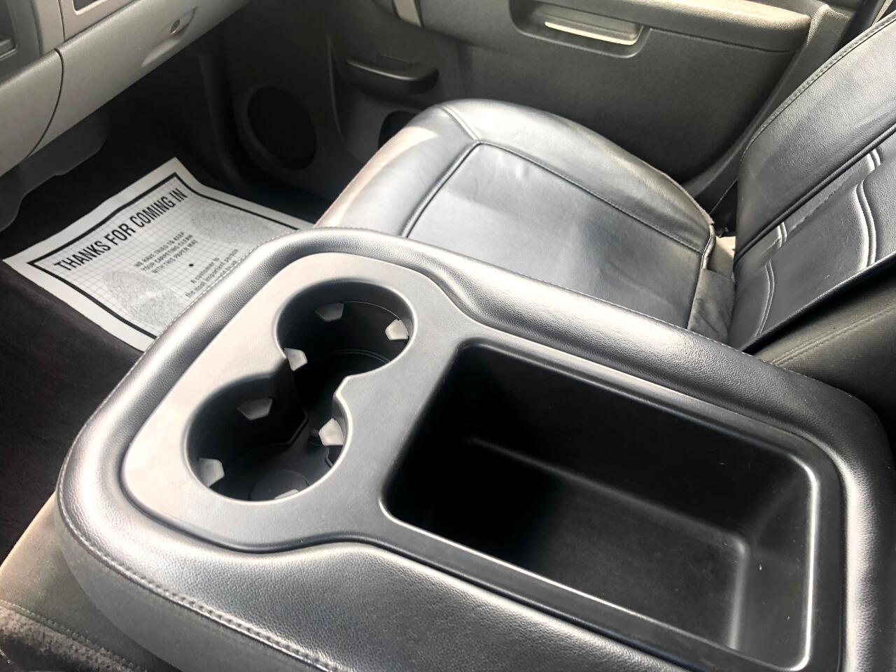 2010 Chevrolet Silverado 1500 4WD Crew Cab 143.5