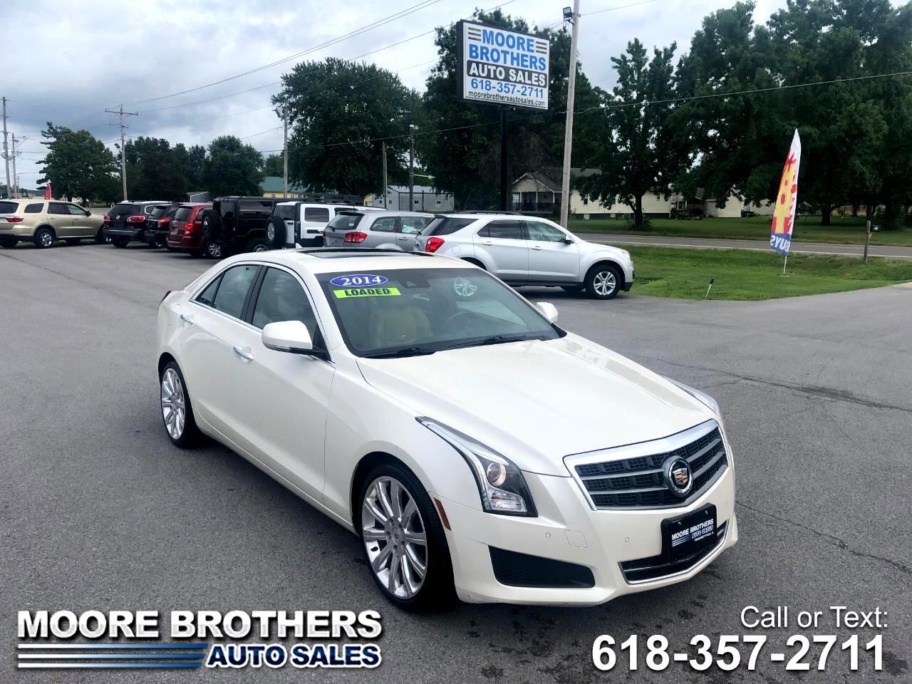 Cadillac ATS 4dr Sdn 2.0L Luxury RWD 2014