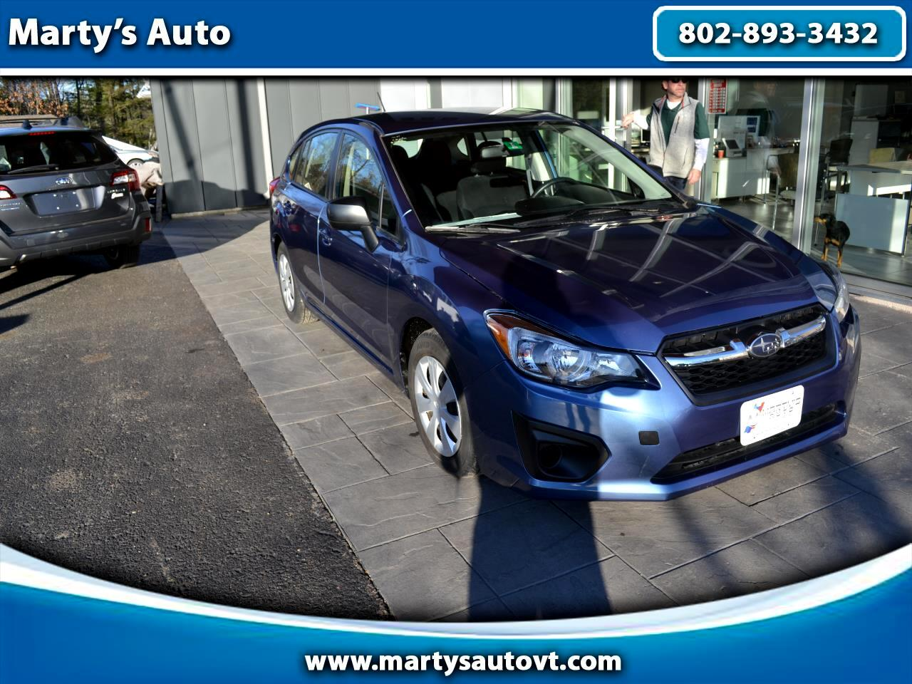 2014 Subaru Impreza 5dr Auto 2.0i