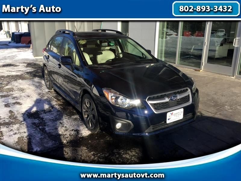 2014 Subaru Impreza Sport 5-Door-Limited+S/R