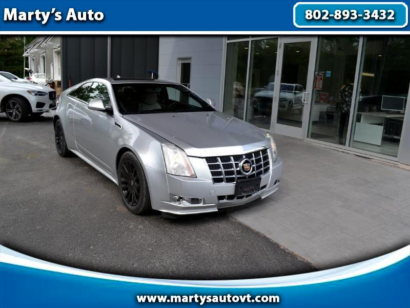 2014 Cadillac CTS 2dr Cpe Performance AWD