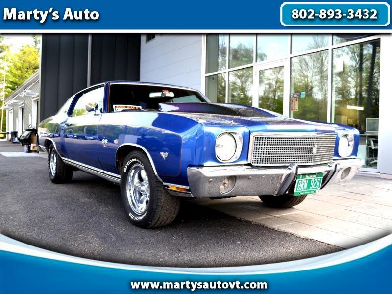 1970 Chevrolet Monte Carlo 2dr Coupe Sport