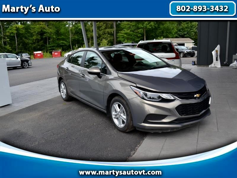 Chevrolet Cruze 4dr Sdn 1.4L LT w/1SD 2018