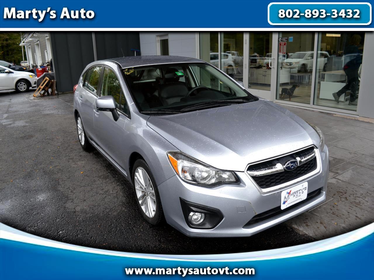 2012 Subaru Impreza 5dr Auto 2.0i Limited