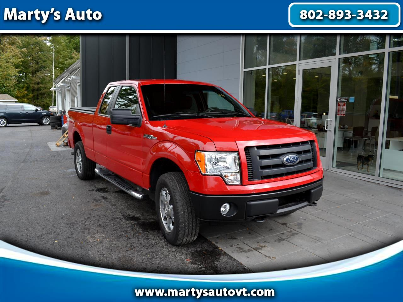 "2009 Ford F-150 4WD SuperCab 145"" XLT"