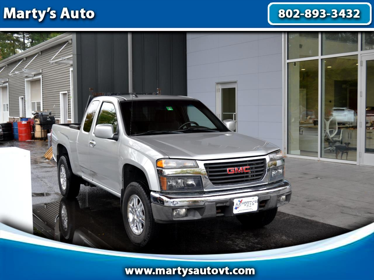 2012 GMC Canyon 4WD Ext Cab SLE1