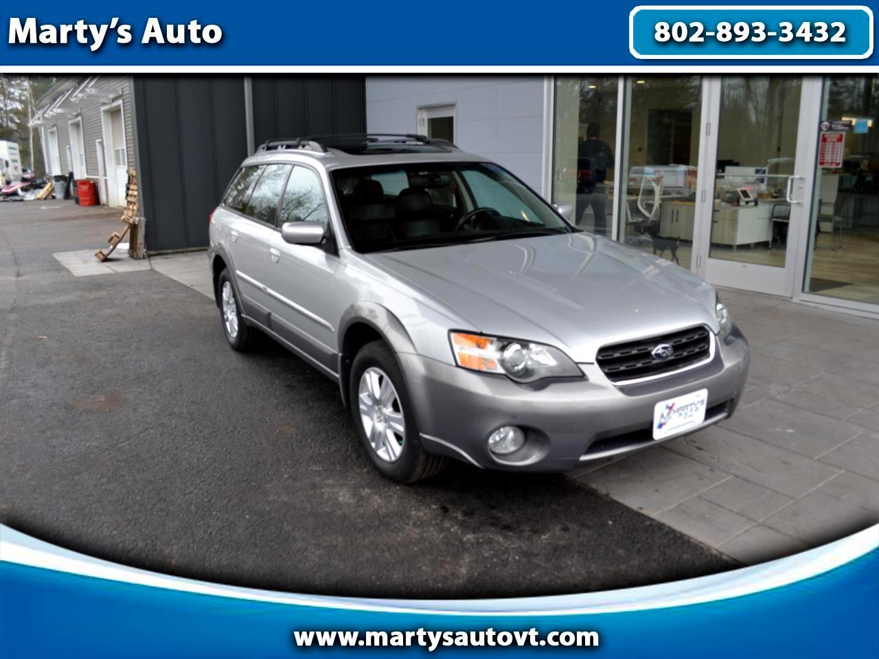 2005 Subaru Legacy Wagon (Natl) Outback 2.5i Ltd Auto