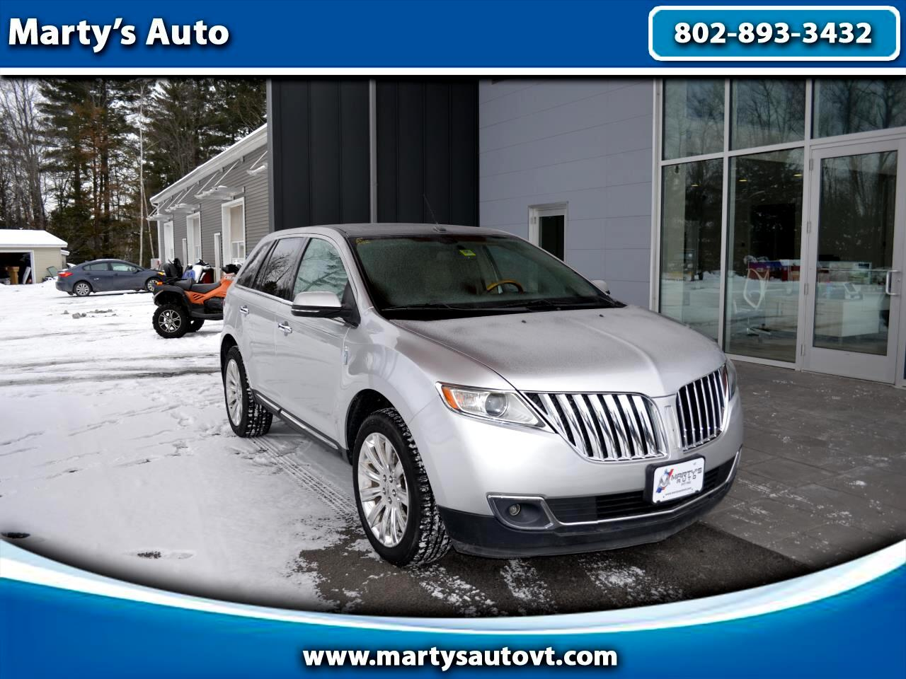 Lincoln MKX AWD 4dr 2013
