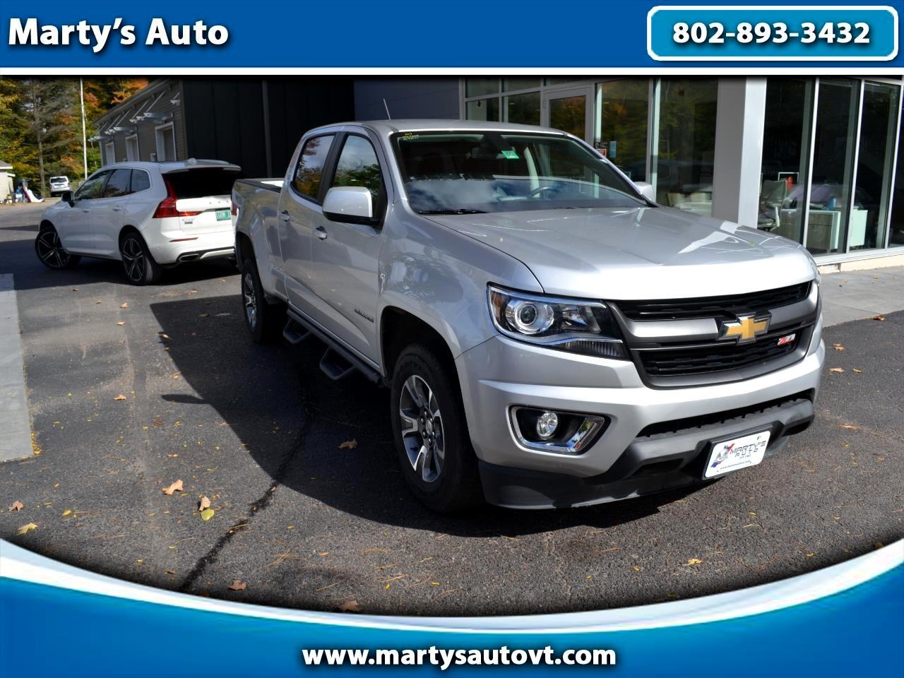 "Chevrolet Colorado 4WD Crew Cab 140.5"" Z71 2019"
