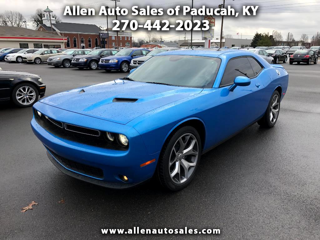 used 2015 dodge challenger sxt plus for sale in paducah ky 42001 allen auto sales. Black Bedroom Furniture Sets. Home Design Ideas