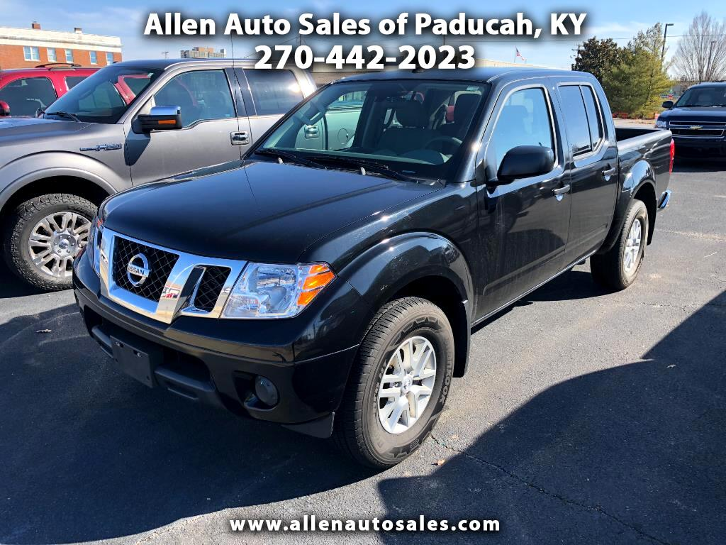 2017 Nissan Frontier SV Crew Cab 4WD LWB