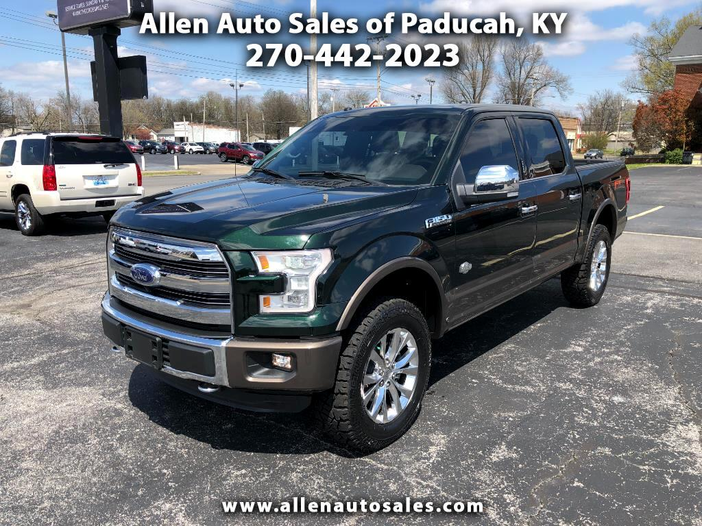 2016 Ford F-150 4WD SuperCrew King Ranch
