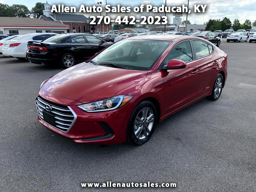 used 2017 hyundai elantra se for sale in paducah ky 42001. Black Bedroom Furniture Sets. Home Design Ideas