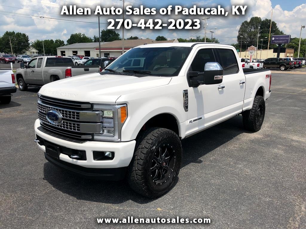 2017 Ford Super Duty F-250 SRW Platinum Crew Cab 4WD