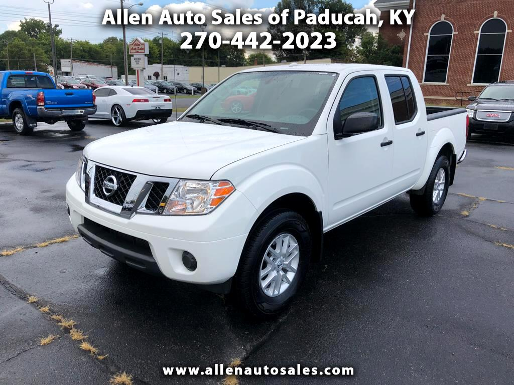 2018 Nissan Frontier SV Crew Cab 4WD
