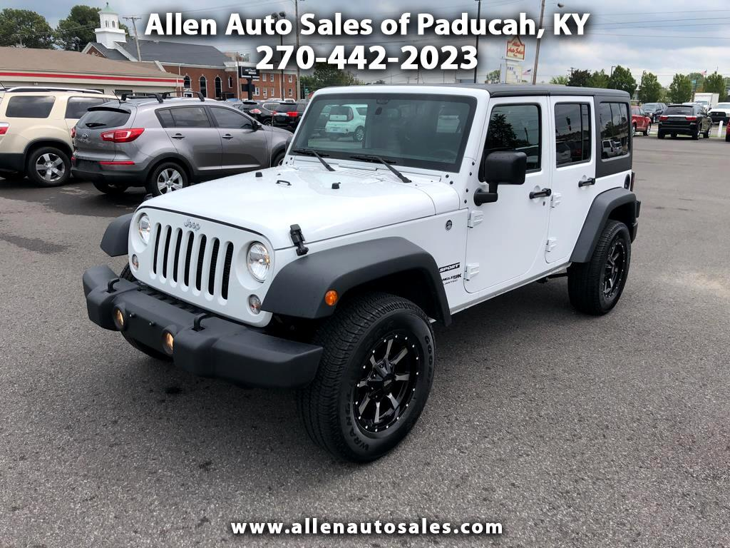 2018 Jeep Wrangler JK Unlimited Sport 4WD